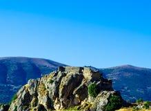 Picchi di montagna nella regione andalusa, landsc tipico della montagna Immagine Stock Libera da Diritti