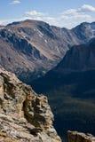 Picchi di montagna ripetuti Fotografia Stock Libera da Diritti