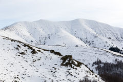 Picchi di montagne di Balcani Immagine Stock Libera da Diritti
