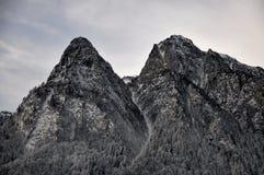Picchi di montagne di Bucegi Immagini Stock Libere da Diritti