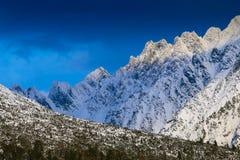 Picchi di montagne di Tatras Immagini Stock Libere da Diritti