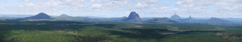 Picchi importanti delle montagne della serra Immagine Stock Libera da Diritti