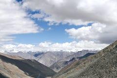 Picchi innevati della gamma di Karakoram Fotografia Stock