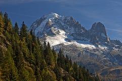 Picchi nelle alpi francesi Fotografia Stock Libera da Diritti