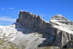 Picchi rocciosi freschi Fotografie Stock Libere da Diritti