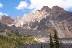 Picchi sopra la valle di Tonquin in diaspro Fotografie Stock Libere da Diritti