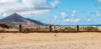 Picchi su Fuerteventura Fotografie Stock