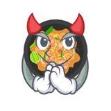 Picchiettio del diavolo tailandese nella forma del fumetto royalty illustrazione gratis