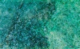 Picchiettio di pietra minerale di struttura di Listvenit Roccia metasomatica che consiste del ankerite, del quarzo e del moscovit immagini stock libere da diritti