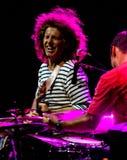 Picchiettio Metheny e Antonio Sanchez a jazz dell'Umbria immagini stock libere da diritti