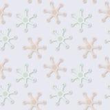 Picchiettio pallido fantastico senza cuciture astratto di colori di vettore Fotografia Stock