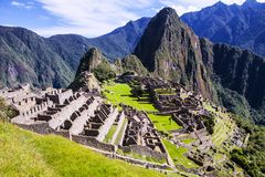 picchu του Περού machu Στοκ Φωτογραφίες