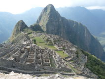 Picchu de Macchu Photos stock
