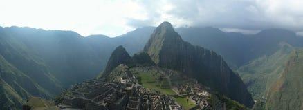 Picchu de macchu de Panorame Photographie stock