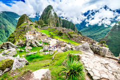 PICCHU DE MACHU, CUSCO, PERU imagem de stock royalty free