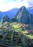 picchu del Perù di machu Immagine Stock