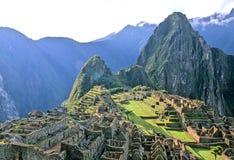 picchu del Perù di machu Fotografia Stock