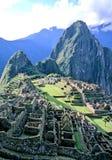 picchu del Perù di machu Immagini Stock