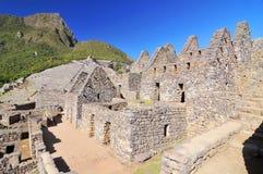 Picchu Machu, προ κολομβιανή περιοχή inca που τοποθετείται σε μια κορυφογραμμή βουνών επάνω από την κοιλάδα urubamba στο Περού στοκ φωτογραφία με δικαίωμα ελεύθερης χρήσης