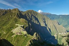 Picchu machu древнего города Стоковая Фотография