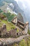 Picchu Machu от Huayna Picchu Стоковое Изображение