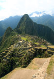 Picchu van Machu Stock Afbeelding