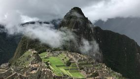 Picchupanorama van Machu stock footage