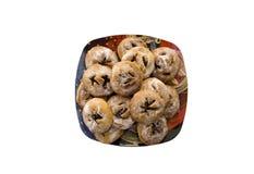 Picciddati, Sicilian pastry Stock Image