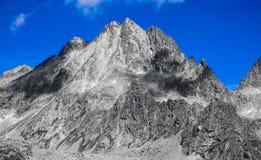 Picco in alto Tatras, Slovacchia Immagini Stock Libere da Diritti