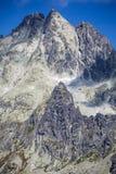 Picco in alto Tatras, Slovacchia Immagine Stock