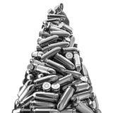 Picco d'argento delle pallottole Fotografia Stock