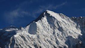 Picco del Mt Cho Oyu Fotografia Stock