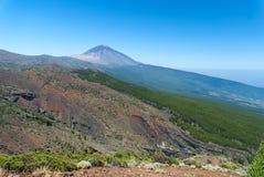 Picco del vulcano Teide. Fotografia Stock Libera da Diritti