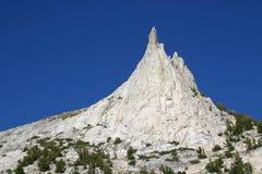 Picco della cattedrale, sosta nazionale del Yosemite. fotografia stock libera da diritti