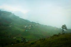 Picco della montagna Fotografia Stock