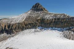 Picco della montagna di Oldenhorn nelle alpi occidentali di Bernese in Svizzera Fotografia Stock Libera da Diritti