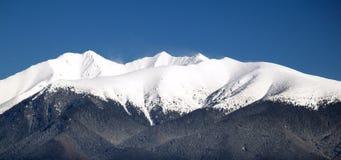 Picco della montagna di Rohace fotografia stock