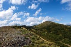 Picco della montagna Stig nell'ora legale Immagini Stock Libere da Diritti