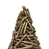 Picco delle pallottole del fucile Fotografia Stock Libera da Diritti