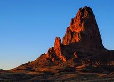 Picco di Agathla alla valle del monumento di tramonto Immagine Stock Libera da Diritti