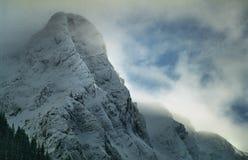 Picco di alta montagna Fotografie Stock
