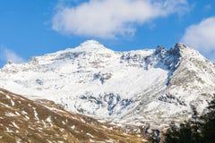 Picco di alta montagna Immagini Stock