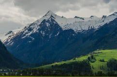 Picco di alta montagna Fotografia Stock