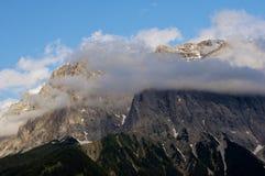 Picco di alta montagna Fotografia Stock Libera da Diritti