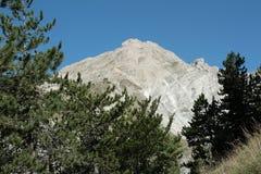 Picco di Bure in alpi, Francia Immagini Stock Libere da Diritti