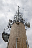 Picco di comunicazione alla torre di Pyramidekogel, Austria Fotografia Stock Libera da Diritti
