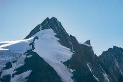 Picco di Grossglockner, più alta montagna in Austria Fotografie Stock Libere da Diritti