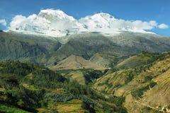 Picco di Huascaran, Perù Fotografia Stock Libera da Diritti
