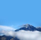 Picco di Imbabura in neve Immagine Stock