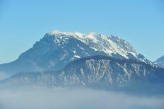 Picco di Kaiser dalla montagna di Alpes in Austria Fotografia Stock Libera da Diritti